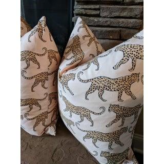 Boho Chic Blush Leopard Pillows - a Pair Preview