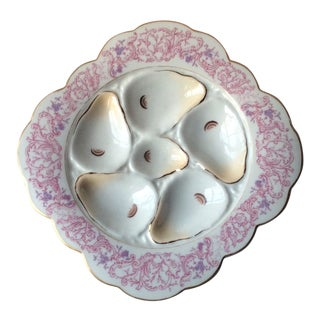 Porcelain Oyster Plate For Sale
