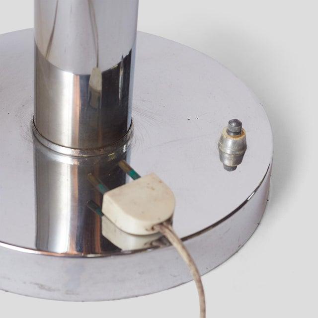 Studio Reggiani Chrome Table Lamp by Reggiani, Italy For Sale - Image 4 of 6