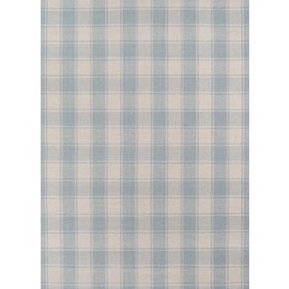 Erin Gates by Momeni Marlborough Charles Light Blue Hand Woven Wool Area Rug - 8' X 10' For Sale