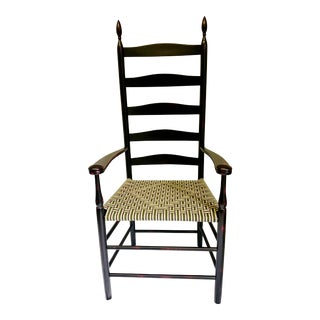 Reproduction Shaker Elder's Chair For Sale