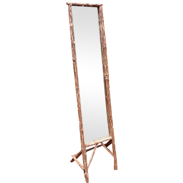 Rustic Standing Mirror - Image 1 of 7