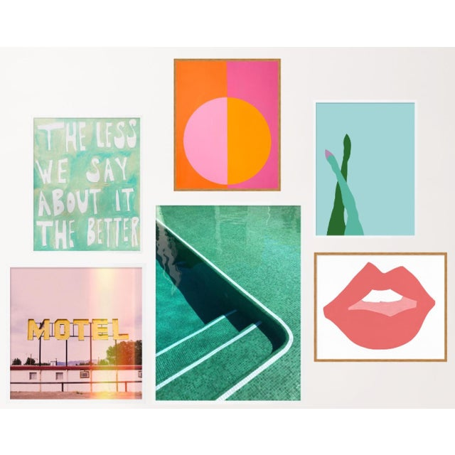 Palm Springs Gallery Wall, Set of 6 For Sale - Image 11 of 11
