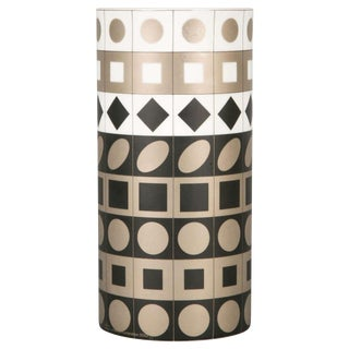 Vasarely Vase by Rosenthal For Sale