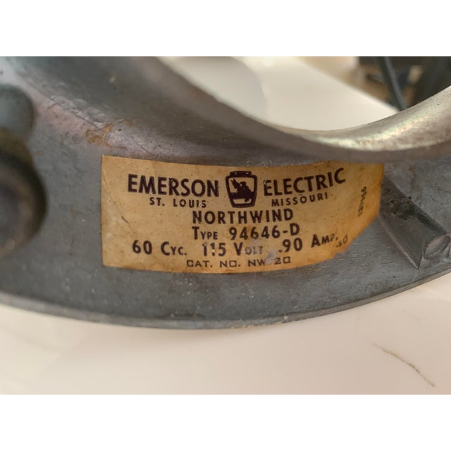 Emerson Emerson Vintage Fan For Sale - Image 4 of 12