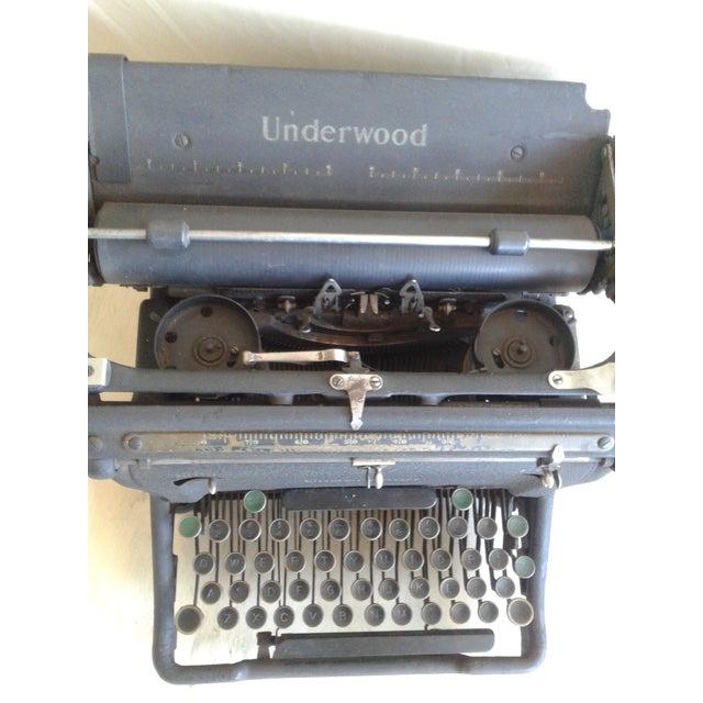 Antique Underwood Typewriter - Image 6 of 9
