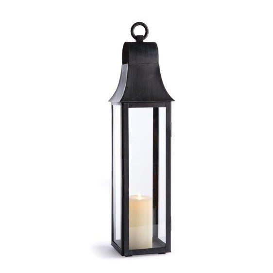 Farmhouse Kenneth Ludwig Chicago Geneva Outdoor Lantern For Sale - Image 3 of 3