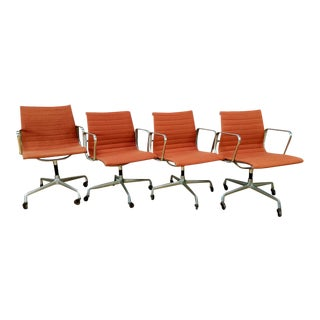 Vintage Herman Miller Office Chairs - Set of 4