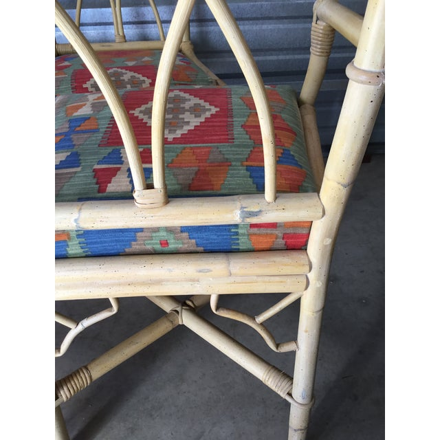 McGuire Bamboo Dining Chairs, Set of 6 For Sale - Image 4 of 8