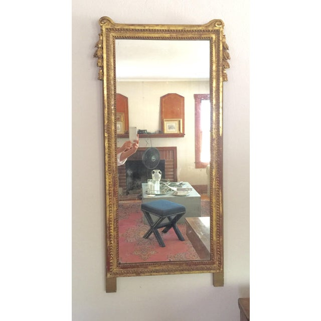 Antique French Gold Leaf Gilt Mirror - Image 2 of 9