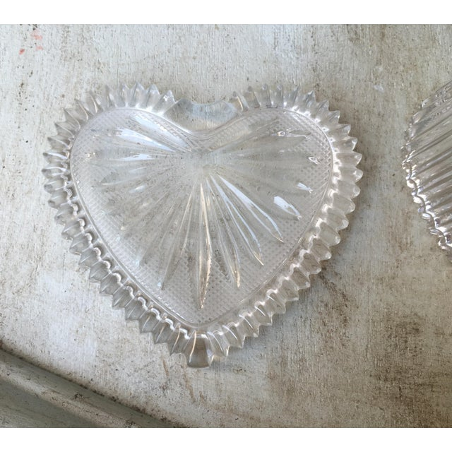 Art Deco Style Crystal Heart Jewelry Box - Image 9 of 10