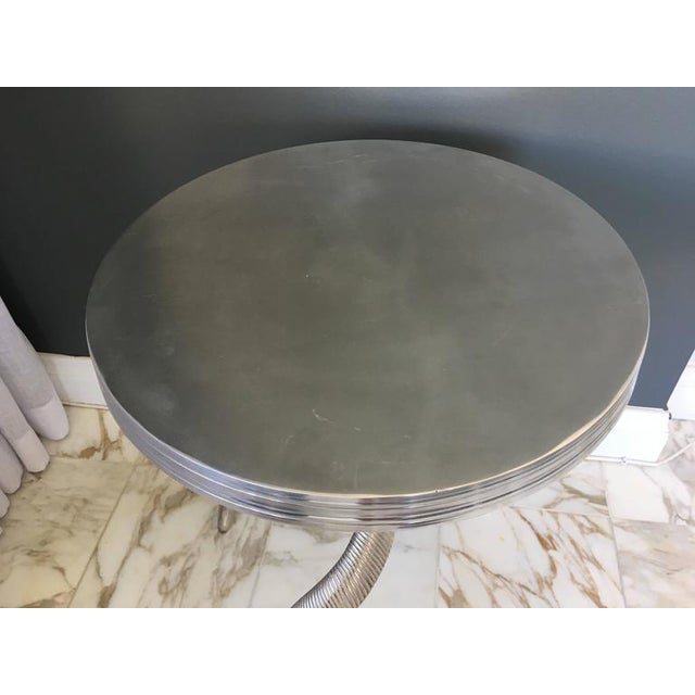 Ibex Horn Side Table For Sale - Image 4 of 6
