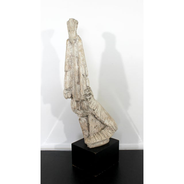 Mid-Century Modern Mid Century Modern Austin Production Signed Table Figure Sculpture For Sale - Image 3 of 11