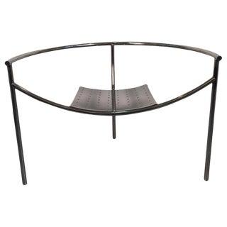 "1980s Vintage Philippe Starck ""Doctor Sonderbar"" Three Legged Chair For Sale"