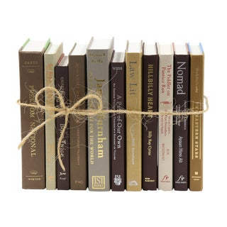 Earth Tones Book Bundle For Sale