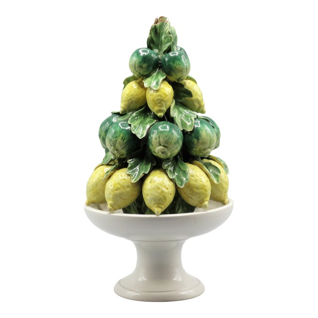 Italian Lemon & Lime Fruit Topiary For Sale