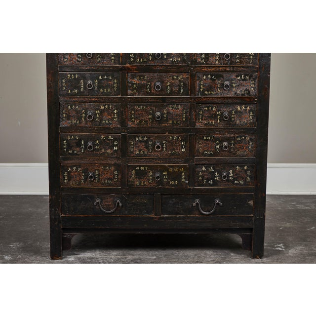 19th Century Chinese Apothecary Cabinet With Drawers For Sale In Los Angeles - Image 6 of 9