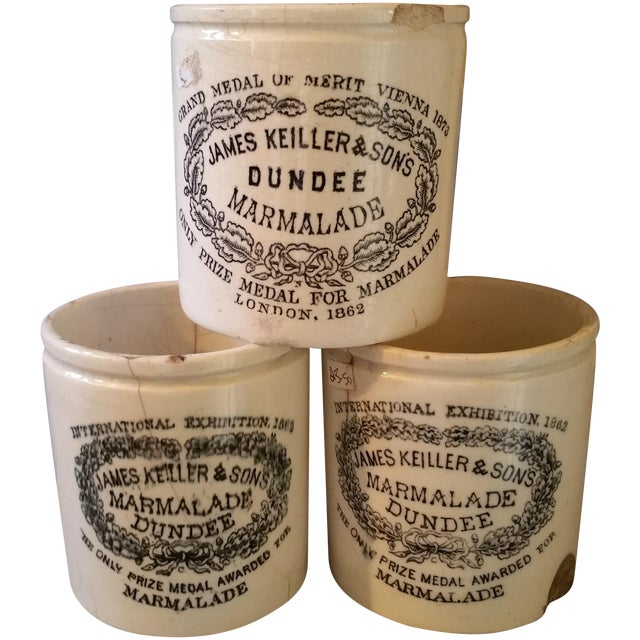 19th Century Marmalade Crocks - Three - Image 1 of 4
