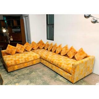Jack Lenor Larsen Milo Baughman Style Two-Piece L-Shaped Sectional Sofa Preview