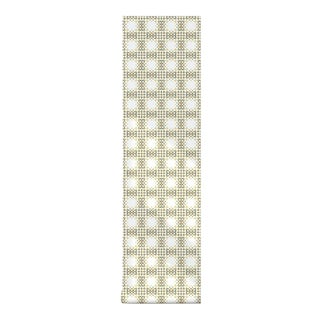 Modern Mosaic Removable Peel & Stick Fabric Wallpaper - 2'w X 4'l For Sale