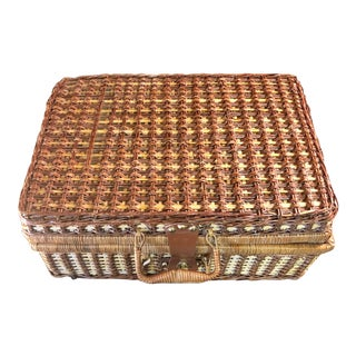 1950s Japanese Picnic Suitcase For Sale