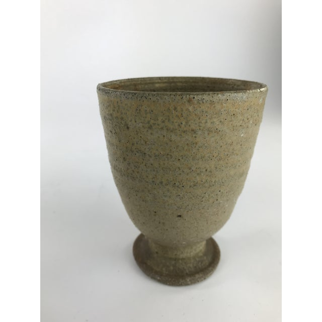 Vintage Stoneware Studio Pottery - Set of 3 For Sale In Los Angeles - Image 6 of 13