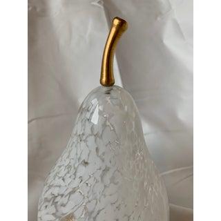 Cenedese Murano Mid Century Modern Heavy Cased Glass Apple Keepsake Box Preview