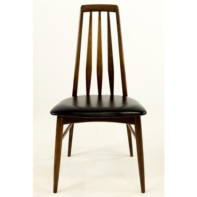 Rosewood Mid-Century Modern Niels Koefoed Hornslet Rosewood Eva Dining Chairs - Set of 6 For Sale - Image 7 of 12