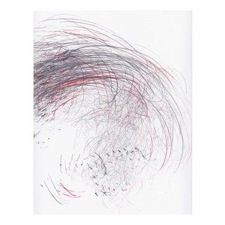 "Jaanika Peerna ""Screech of Ice Series 41"", Drawing For Sale"