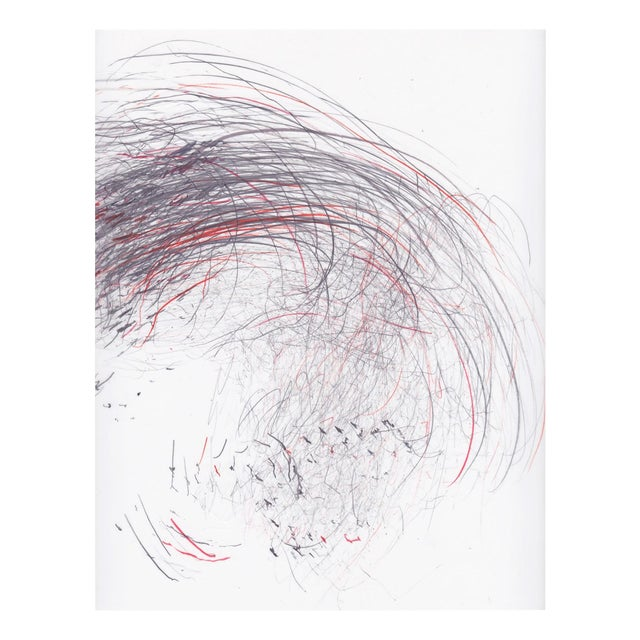 "Jaanika Peerna ""Screech of Ice Series 41"", Drawing For Sale"