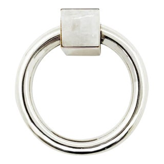 Addison Weeks Porter RIng Pull, Nickel & Moonstone For Sale