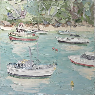 """Sally West """"Berry's Bay (22.6.17)"""" Original Painting For Sale"""