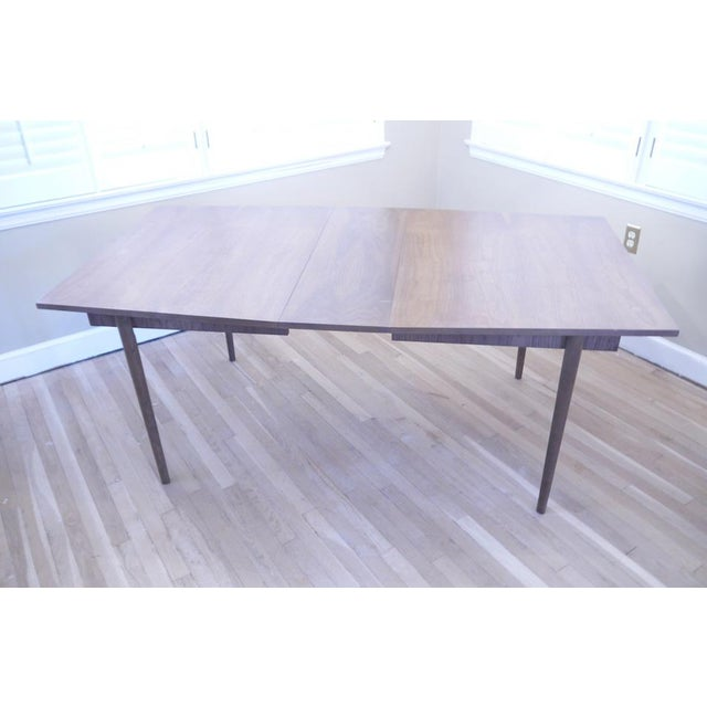 Mid-Century Wooden Dining Table For Sale - Image 4 of 9