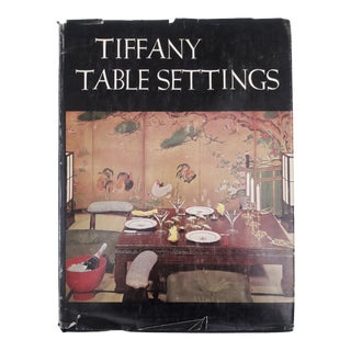 "1960 Vintage ""Tiffany Table Setting"" Book, 1st Printing For Sale"