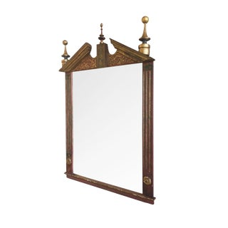 Early 20th Century Gilt Painted Mirror in the Neoclassical Style For Sale