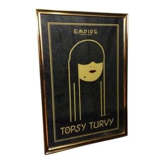 Topsy Turvy Framed Mirror Victor Hicks