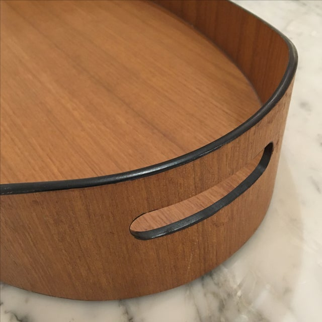 Teak Oval Tray - Image 3 of 5