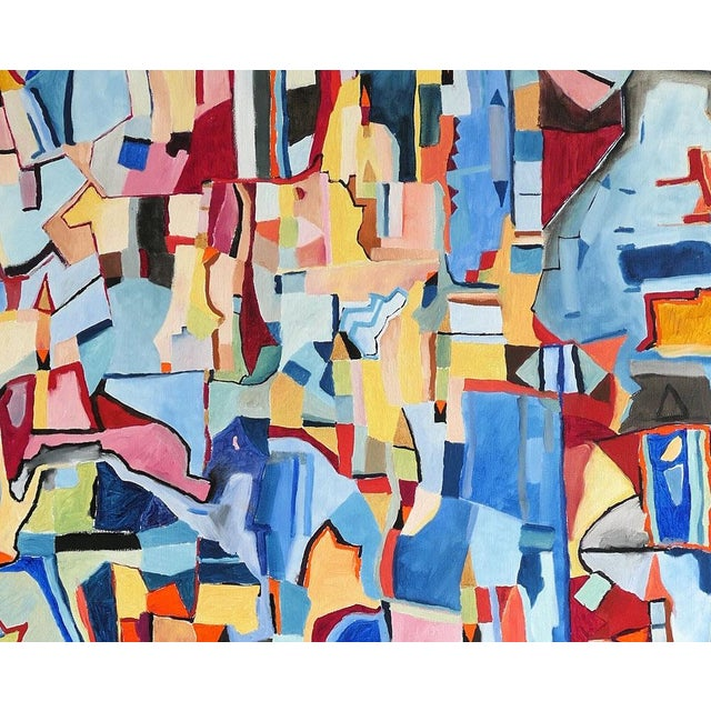 "Abstract Jeremie Iordanoff ""Untitled 248"", Painting For Sale - Image 3 of 7"