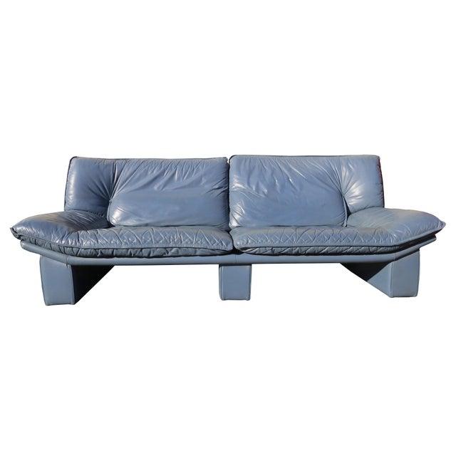 Sink yourself in this ultra stylish modern Italian sofa suite by Nicoletti Salotti. Super soft high quality Italian...