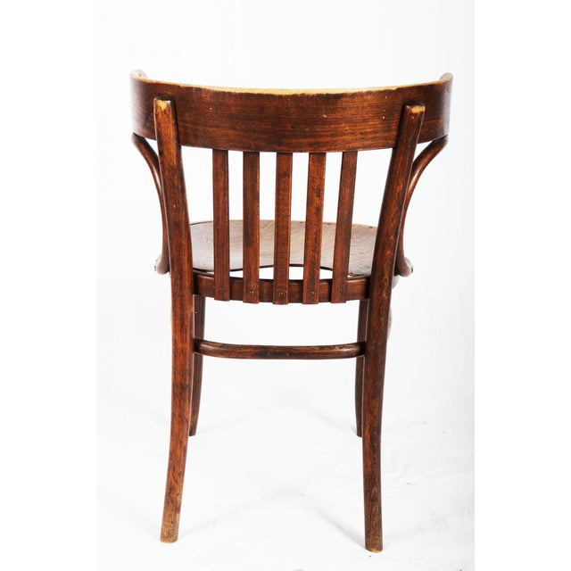 Thonet Bistro Armchair by Michael Thonet, 1920s For Sale - Image 4 of 5