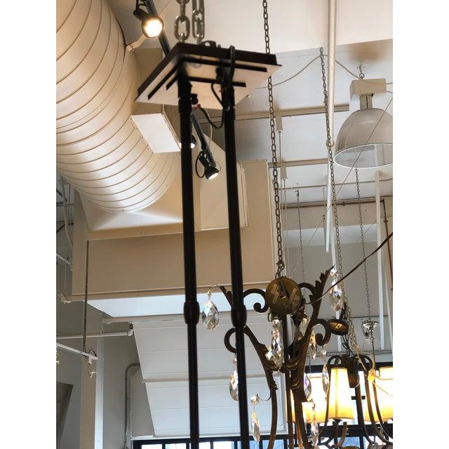 Hubbardton Forge Trestle 4-Light Pendant Chandelier For Sale In San Francisco - Image 6 of 12