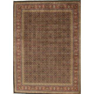 Pasargad Tabriz Lamb's Wool Area Rug- 12′2″ × 15′3″ For Sale
