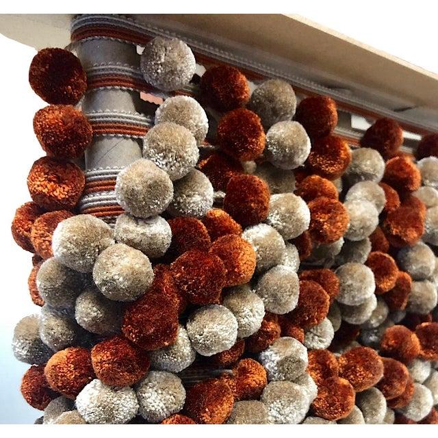 Pompom Tassel Fringe - 6.75 Yard Length For Sale In Charlotte - Image 6 of 8