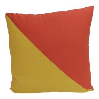 Antique Textiles Galleries Nautical Collection Oscar Decorative Pillow For Sale