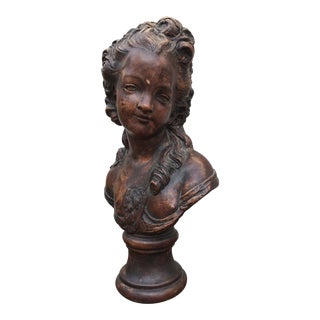 Early Century French Bust For Sale