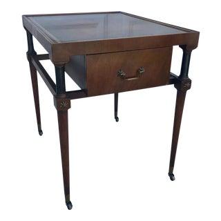 Heirloom Regency Weiman Side Table For Sale