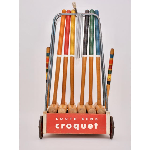 Mid Century South Bend Croquet Set For Sale - Image 12 of 12