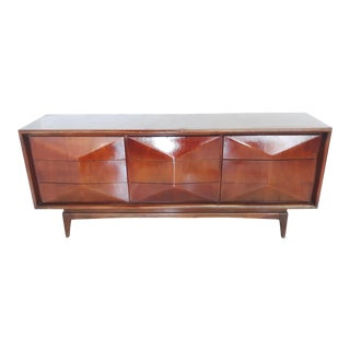 Mid-Century Lowboy Dresser For Sale