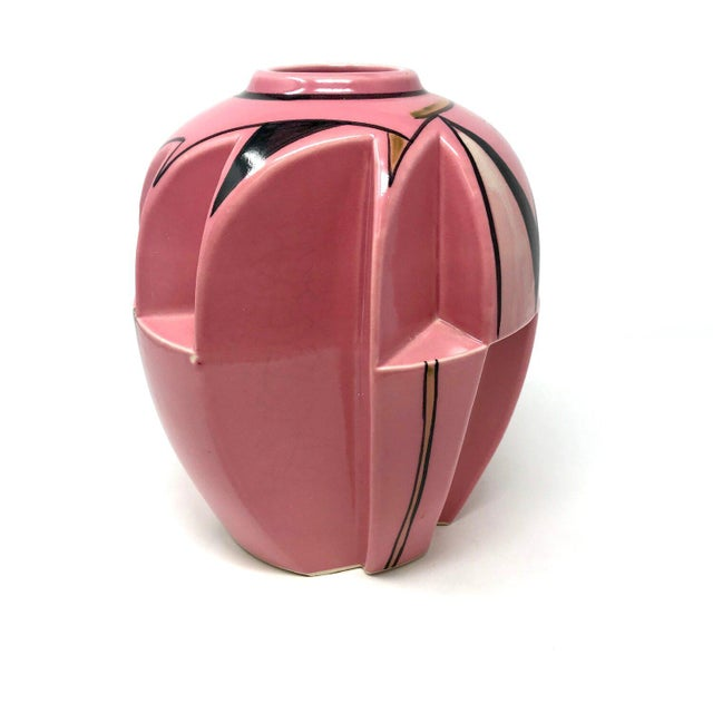 Art Deco 1930s Futura-Style Vase For Sale - Image 3 of 7