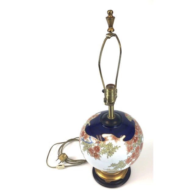 Marbro Japanese Style Porcelain Lamp For Sale - Image 9 of 13